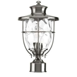 Progress Lighting Beacon Collection Outdoor Stainless Steel Post Lantern P6411 135DI