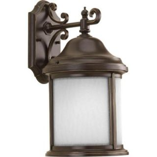 Progress Lighting Ashmore Collection Wall Mount Outdoor Antique Bronze Lantern P5875 20WB