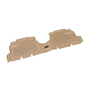 Floor Liner Rear 1 Piece Tan 2007 2013 Jeep Wrangler Unlimited JK 13950.01