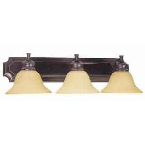 Design House Bristol 3 Light Oil Rubbed Bronze Wall Sconce 509042