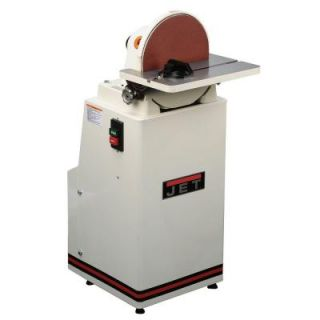 JET 115 Volt 12 in. Industrial Disc Finishing Machine Sander 414602
