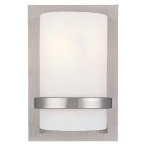 Minka Lavery 1 Light Brushed Nickel Wall Sconce 342 84