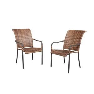 Manila Bay Woven Patio Stack Chair 133 014 CHR