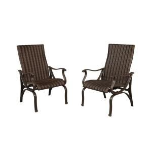 Hampton Bay Pembrey Patio Dining Chair (2 Pack) HD14204