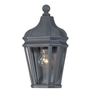 the great outdoors by Minka Lavery Wall Mount 1 Light Outdoor Black Lantern 8697 66