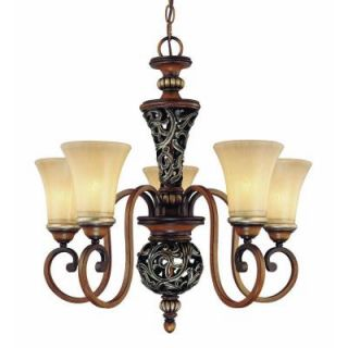 Hampton Bay 5 Light Caffe Patina Chandelier 17009