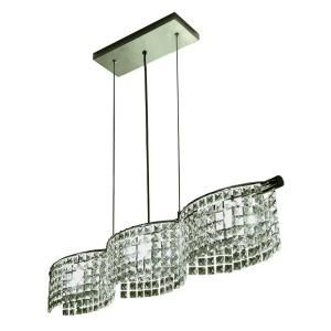 BAZZ Glam Helix Collection 3 Light Hanging Pendant  Discontinued LU5003CC