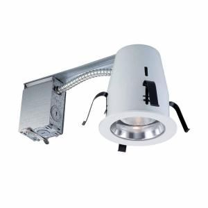 Commercial Electric 4 in. Non IC Remodel Recessed Lighting Kit HBR2000R/202CLR