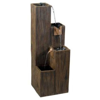 Kenroy Home Timber Indoor/Outdoor Fountain 50007WDG