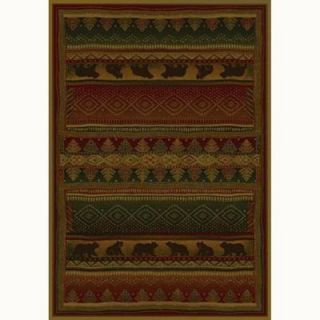 United Weavers Bearwalk 5 ft. 3 in. x 7 ft. 6 in. Contemporary Lodge Area Rug 130 32943 58