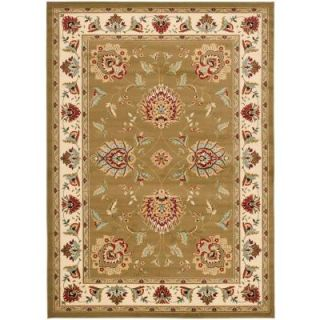 Safavieh Lyndhurst Green/Ivory 8 ft. 9 in. x 12 ft. Area Rug LNH555 5212 9