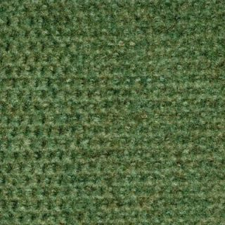 TrafficMASTER Long Weekend   Color Olive Indoor/Outdoor 12 ft. Carpet CN17N39X144H
