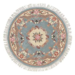Home Decorators Collection Imperial Light Green 8 ft. Round Area Rug 0294363640