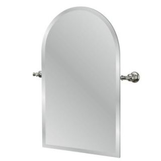 Pegasus Verdanza 24 7/16 in. x 24 5/16 in. Brushed Nickel Wall Mirror 20735 4504