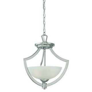 Thomas Lighting Charles 2 Light Brushed Nickel Pendant DISCONTINUED TG0001217
