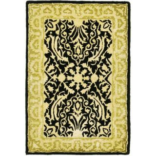 Safavieh Silk Road Black/Ivory Rug Decor