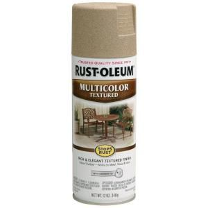 Rust Oleum Stops Rust 12 oz. Protective Enamel Multi Colored Textured Desert Bisque Spray Paint 223524