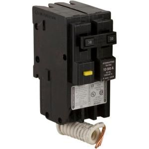 Square D by Schneider Electric HomeLine 30 Amp Two Pole GFCI Circuit Breaker HOM230GFI