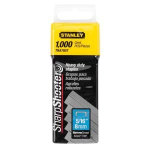 Stanley 5/16 in. Heavy Duty Staples (1000 Each) TRA705T