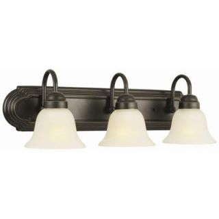 Design House Allante 3 Light Oil Rubbed Bronze Bath Light 506618
