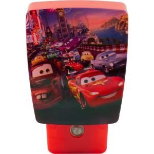 Jasco Disney Pixar Cars Wrap Around Shade LED Night Light 11758