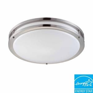 Hampton Bay 2 Light Flush Mount Ceiling Fluorescent Light DC018P