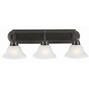 Design House Millbridge 3 Light Oil Rubbed Bronze Vanity Light 517615