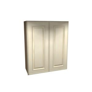 Home Decorators Collection Assembled 27x42x12 in. Wall Double Door Cabinet in Holden Bronze Glaze W2742 HBG