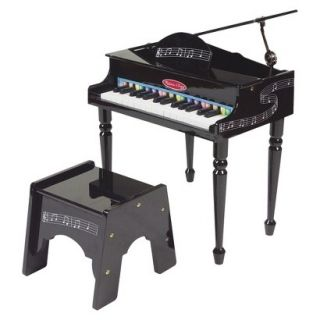 Melissa & Doug Wooden Deluxe Grand Piano