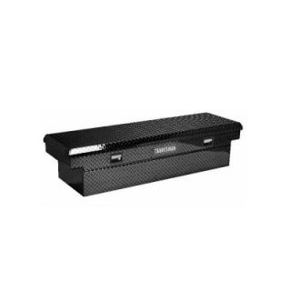 Lund Full Size Aluminum Cross Bed Tool Box, Black LALF581BK