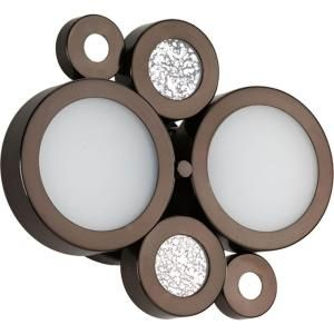 Progress Lighting Bingo Collection 2 Light Venetian Bronze Bath Light P2026 74WB