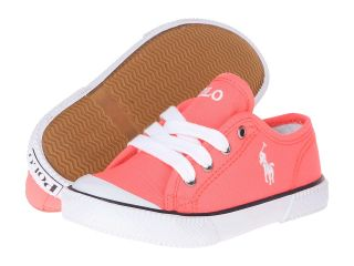 Polo Ralph Lauren Kids Chaz Girls Shoes (Orange)