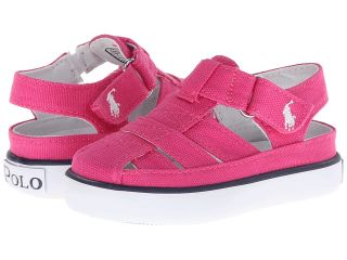 Polo Ralph Lauren Kids Sander Fisherman II Girls Shoes (Pink)