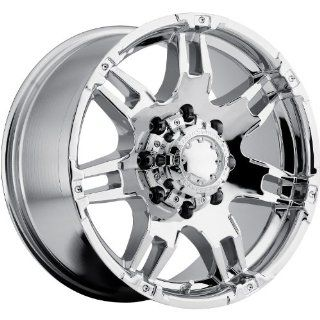 Ultra Gauntlet 16 Chrome Wheel / Rim 8x170 with a  6mm Offset and a 125 Hub Bore. Partnumber 238 6887C Automotive