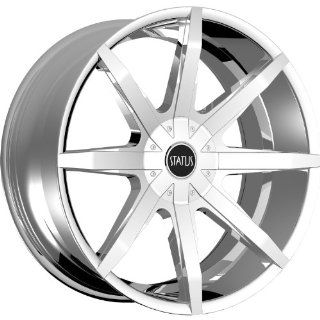 Status Spear 24 Chrome Wheel / Rim 6x135 & 6x5.5 with a 15mm Offset and a 106.1 Hub Bore. Partnumber S831QN6LM15C16 Automotive