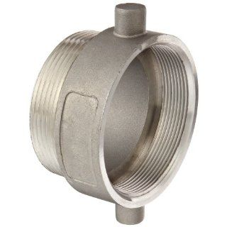 Dixon 30RDSSAP Series Stainless Steel Tank Truck Fitting, Thread Adapter, BSPP Female x NPT Male Industrial Pipe Fittings