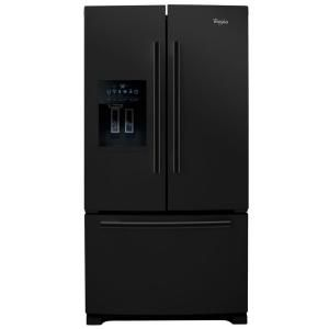 Whirlpool Gold 25.6 cu. ft. French Door Refrigerator in Black GI6FARXXB