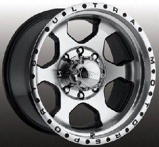 Ultra Rogue 18 Machined Black Wheel / Rim 5x150 with a 35mm Offset and a 110 Hub Bore. Partnumber 175 8850U Automotive