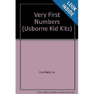 Very First Numbers (Usborne Kid Kits) Jo Litchfield 9781580864480 Books