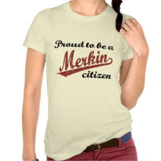 Proud to be a Merkin Citizen T shirt