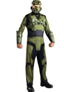 Halo Master Chief Adult Costume Standard Halloween Costume Clothing