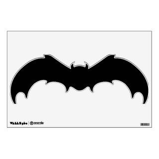 bat animal silhouette wall decal black GIANT