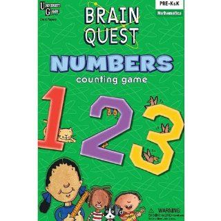 University Games Brain Quest   Numbers Toys & Games
