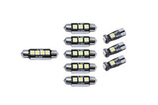 SMD LED Innenraumbeleuchtung Seat Leon 1P Cupra FR ST 9LEDs Xenon Set 189 Auto