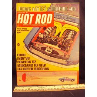 1967 67 FEB Febuary HOT ROD Magazine, Volume 20 Number # 2 Petersen Publishing Co. Books