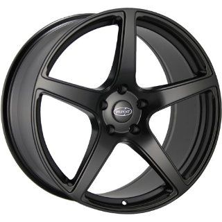 Privat Kuhl 20 Black Wheel / Rim 5x112 with a 35mm Offset and a 73.10 Hub Bore. Partnumber KL09512355 Automotive
