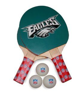 NFL Philadelphia Eagles Table Tennis Racket And Ball Set  Sports & Outdoors