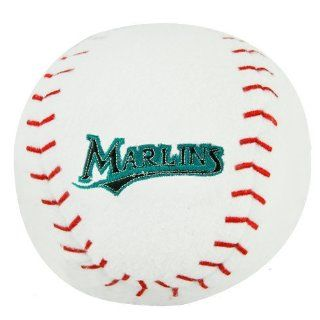 MLB Florida Marlins Plush Team Baseball Rattle  Sports Fan Wallets  Sports & Outdoors