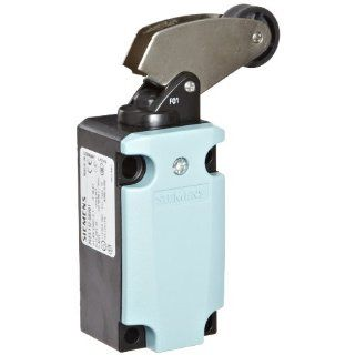 Siemens 3SE5 112 0BF01 International Limit Switch Complete Unit, Angular Roller Lever, 40mm Metal Enclosure, Metal Lever, 22mm Plastic Roller, Slow Action Contacts, 1 NO + 1 NC Contacts Electronic Component Limit Switches