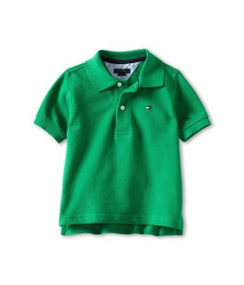 Tommy Hilfiger Kids Ivy Polo Boys Short Sleeve Pullover (Blue)